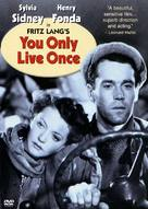 You Only Live Once - DVD movie cover (xs thumbnail)