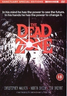 The Dead Zone - British DVD movie cover (xs thumbnail)