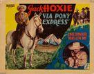 Via Pony Express - Movie Poster (xs thumbnail)