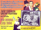 The Fortune Cookie - Mexican Movie Poster (xs thumbnail)