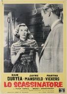 The Burglar - Italian Movie Poster (xs thumbnail)