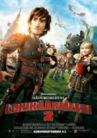 How to Train Your Dragon 2 - Finnish Movie Poster (xs thumbnail)