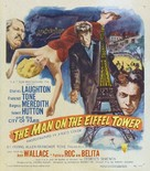 The Man on the Eiffel Tower - Movie Poster (xs thumbnail)