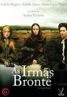 Les soeurs Brontë - Portuguese DVD cover (xs thumbnail)
