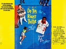 Do The Right Thing - British Movie Poster (xs thumbnail)