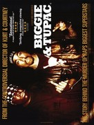 Biggie and Tupac - British Movie Poster (xs thumbnail)