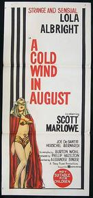 A Cold Wind in August - Movie Poster (xs thumbnail)