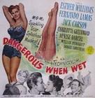 Dangerous When Wet - Movie Poster (xs thumbnail)