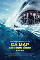 The Meg - Vietnamese Movie Poster (xs thumbnail)