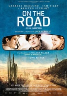 On the Road - Spanish Movie Poster (xs thumbnail)