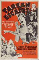 Tarzan Escapes - Re-release movie poster (xs thumbnail)