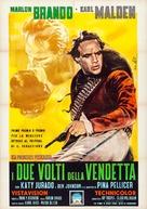 One-Eyed Jacks - Italian Movie Poster (xs thumbnail)