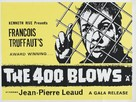 Les quatre cents coups - British Movie Poster (xs thumbnail)