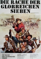 Guns of the Magnificent Seven - German Movie Poster (xs thumbnail)