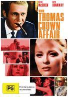 The Thomas Crown Affair - Australian DVD movie cover (xs thumbnail)