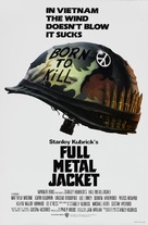 Full Metal Jacket - Theatrical movie poster (xs thumbnail)
