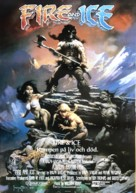 Fire and Ice - Swedish Movie Poster (xs thumbnail)
