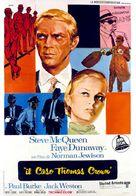 The Thomas Crown Affair - Italian Movie Poster (xs thumbnail)