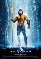 Aquaman - Spanish Movie Poster (xs thumbnail)