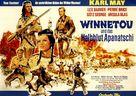 Winnetou und das Halbblut Apanatschi - German Movie Poster (xs thumbnail)