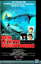 The Final Countdown - German VHS cover (xs thumbnail)