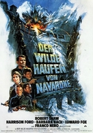 Force 10 From Navarone - German Movie Poster (xs thumbnail)