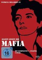 """""""La piovra 7 - Indagine sulla morte del comissario Cattani"""" - German DVD cover (xs thumbnail)"""