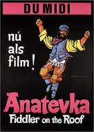 Fiddler on the Roof - Dutch Movie Poster (xs thumbnail)