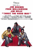 Three the Hard Way - Movie Poster (xs thumbnail)