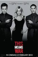 This Means War - Malaysian Movie Poster (xs thumbnail)