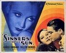 Sinners in the Sun - British Movie Poster (xs thumbnail)