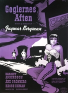 Gycklarnas afton - Danish Movie Poster (xs thumbnail)