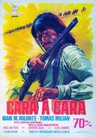 Faccia a faccia - Spanish Movie Poster (xs thumbnail)