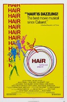 Hair - Theatrical movie poster (xs thumbnail)