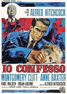 I Confess - Italian Theatrical movie poster (xs thumbnail)