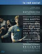The Social Network - Spanish DVD movie cover (xs thumbnail)
