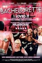 Bachelorette - British Movie Poster (xs thumbnail)