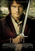 The Hobbit: An Unexpected Journey - Brazilian Movie Poster (xs thumbnail)