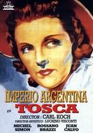 Tosca - Spanish Movie Poster (xs thumbnail)
