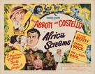 Africa Screams - Movie Poster (xs thumbnail)