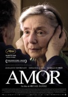 Amour - Portuguese Movie Poster (xs thumbnail)