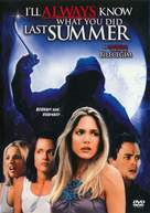 I'll Always Know What You Did Last Summer - Turkish DVD cover (xs thumbnail)