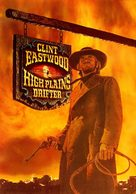 High Plains Drifter - DVD cover (xs thumbnail)