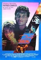 Dirty Dancing - Swedish Movie Poster (xs thumbnail)