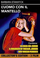 The Man with a Cloak - Italian DVD movie cover (xs thumbnail)