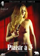 Plaisir à trois - French DVD cover (xs thumbnail)