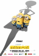 Minions - Slovak Movie Poster (xs thumbnail)