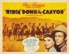 Ridin' Down the Canyon - Movie Poster (xs thumbnail)