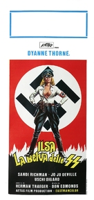 Ilsa: She Wolf of the SS - Italian Movie Poster (xs thumbnail)