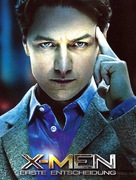 X-Men: First Class - German Movie Poster (xs thumbnail)